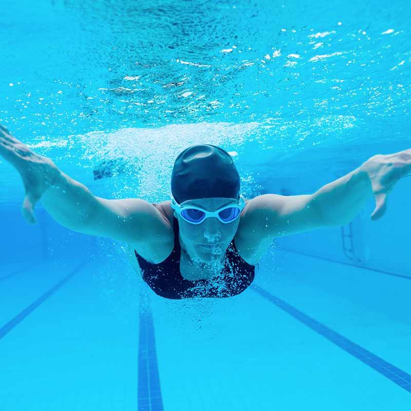 Schnellschwimmerbahn